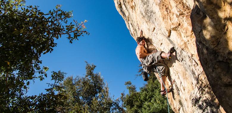 ambitious goals rockclimber